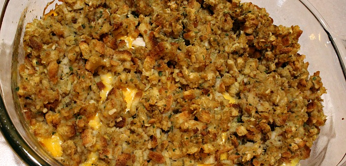 Easy Stove Top Casserole with Weight Watcher Break down is the perfect weeknight casserole to make your family! Full of all the best comfort fall foods!
