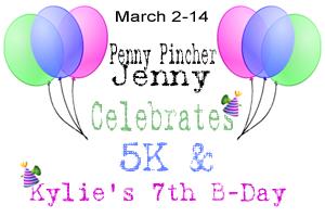 5k Fan Celebration and Kylie Turning 7 Cash Giveaway!!!!