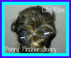 These Lila Rose flexi clips are perfect for those with super thick hair or even thin hair.  It is so easy to dress up and and do an updo on your hair as well for every day use or a hot date night.
