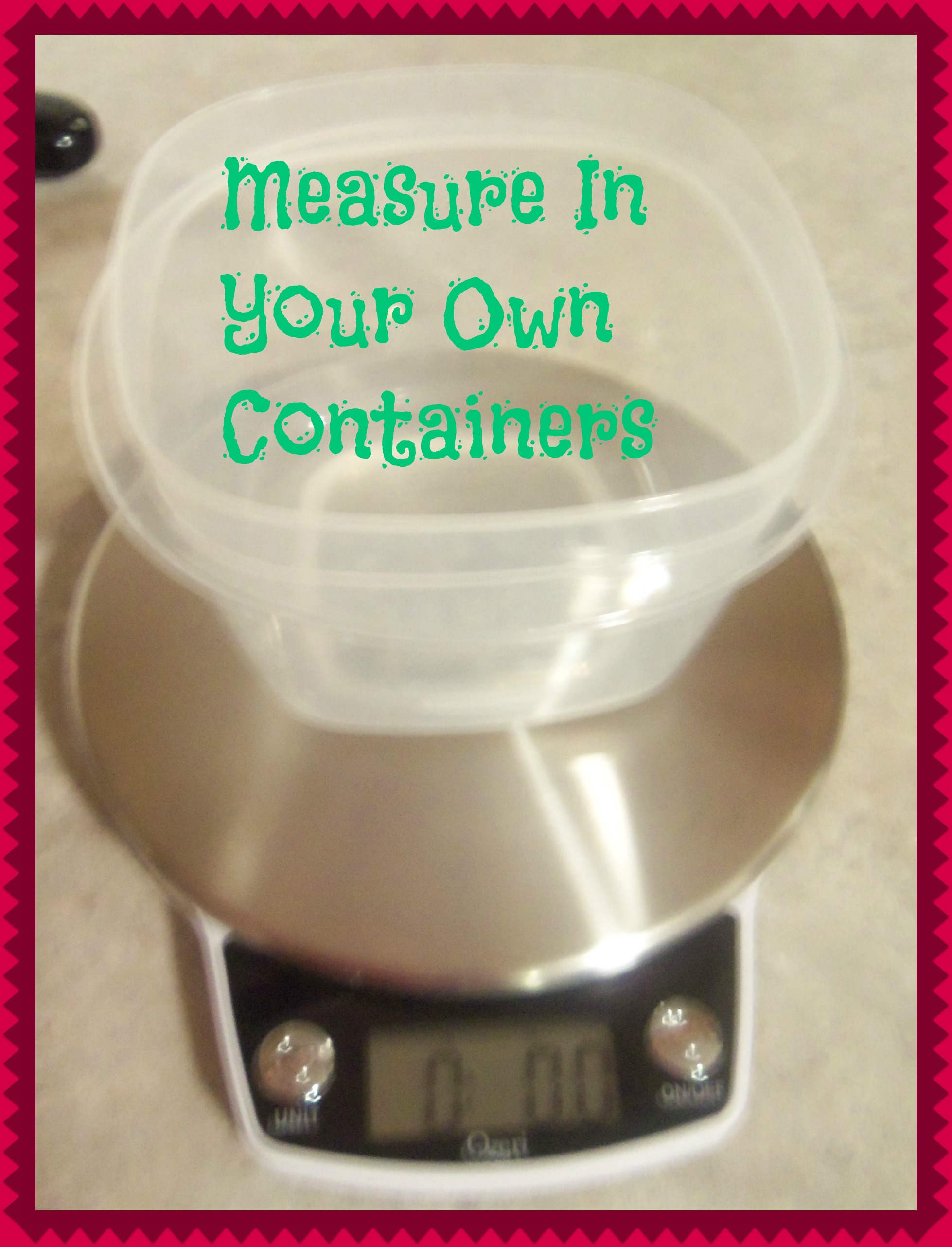 Ozeri Kitchen Scale Review and Giveaway!! Ends October 16!!