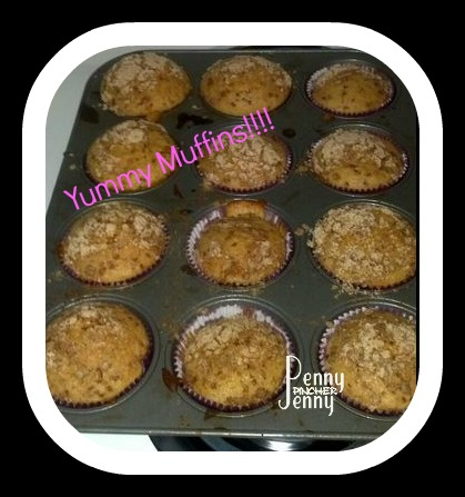 Cinnamon Toast Crunch Muffins and Betty Crocker Easy Pour Brownies!