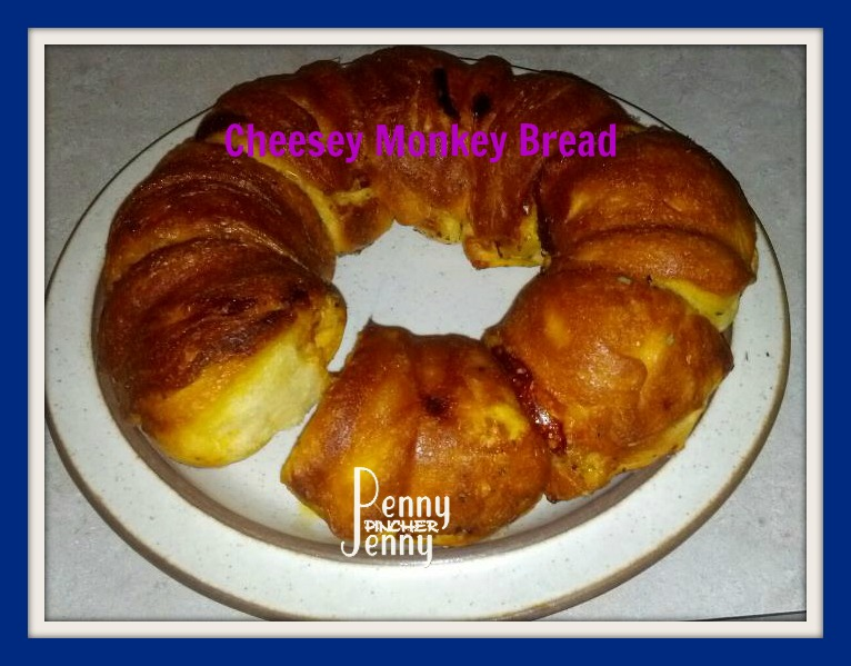 Easy Cheap Cheesey Monkey Bread