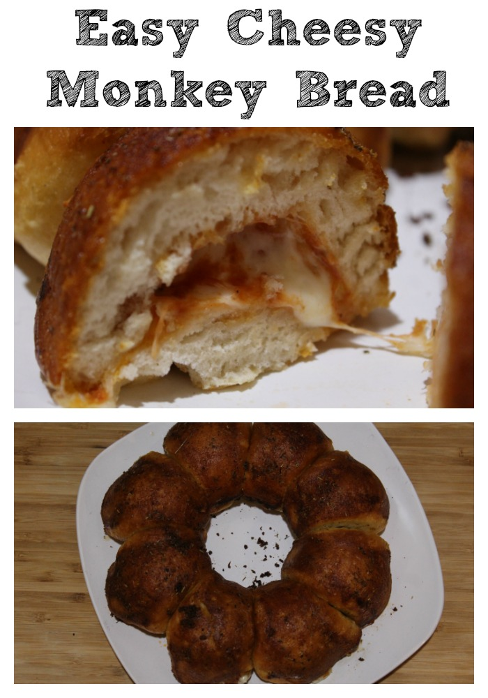 Easy Cheesy Monkey Bread is the perfect bread to make to pair up with any meal!! Plus it's frugal as well and perfect to make for potlucks too!