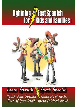 Lightning Fast Spanish Strikes Again Review and Giveaway! Ends Oct 30