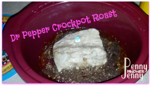 Dr Pepper Crockpot Roast