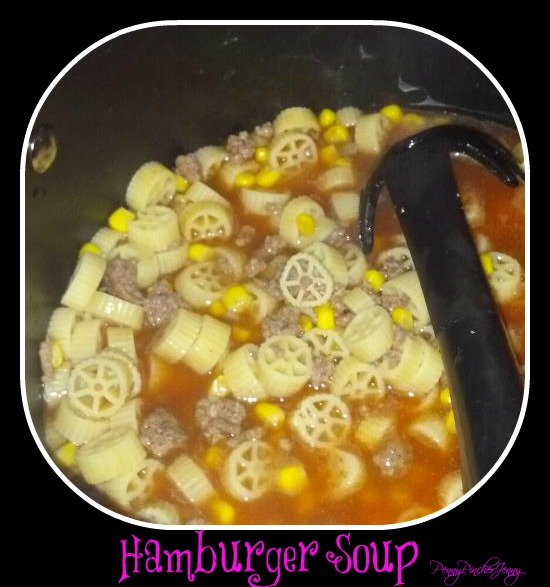 Hamburger Soup-Quick, Frugal, and Kid Friendly!