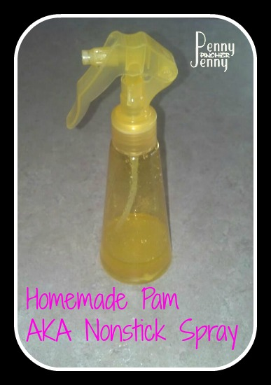 Homemade Nonstick Spray