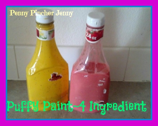 puffy paint 4 ingredient