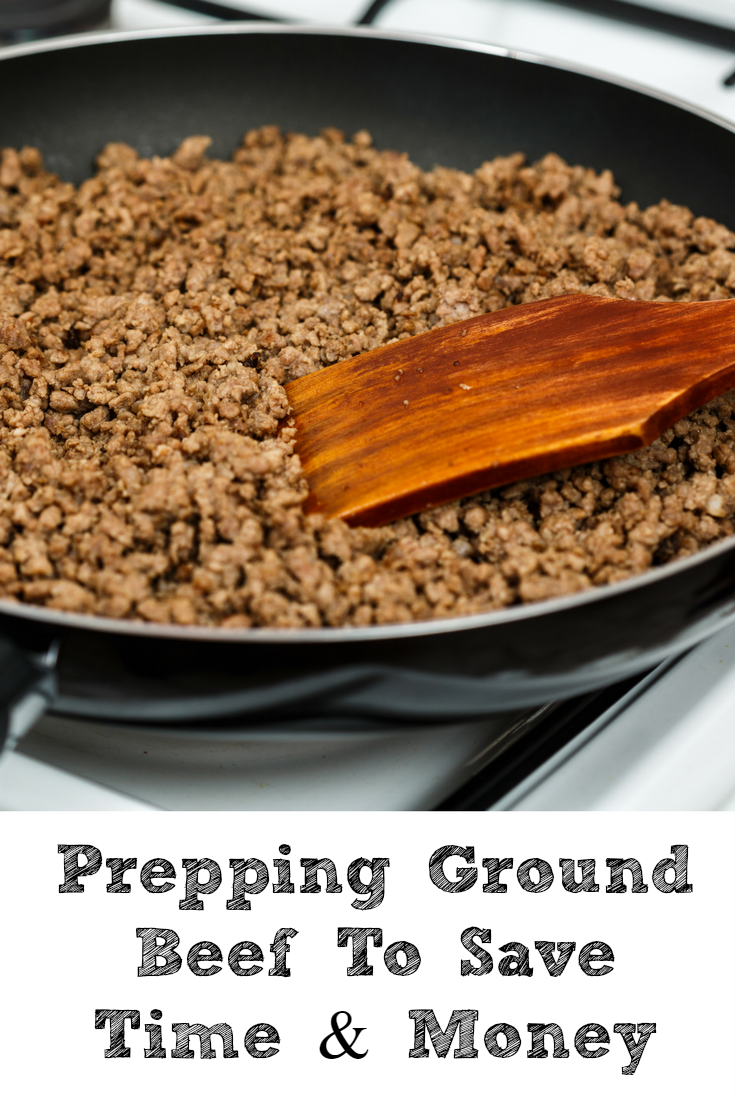 Prepping ground beef to save time and money penny pincher jenny - Defrost chicken safe way ...
