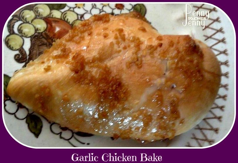 Garlic Chicken With Weight Watcher Break Down