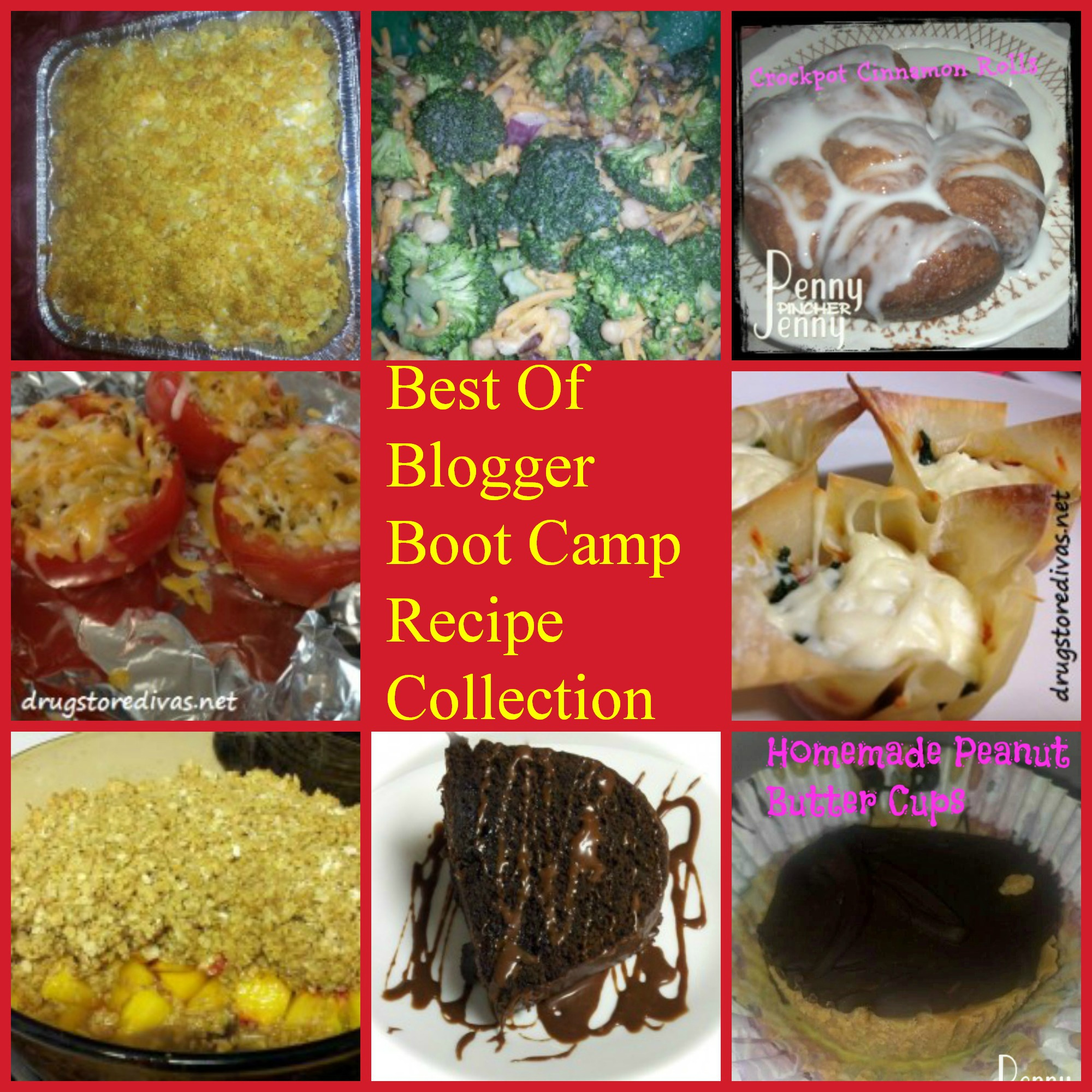 Recipe Collection The Best of From #BloggerBootCamp!