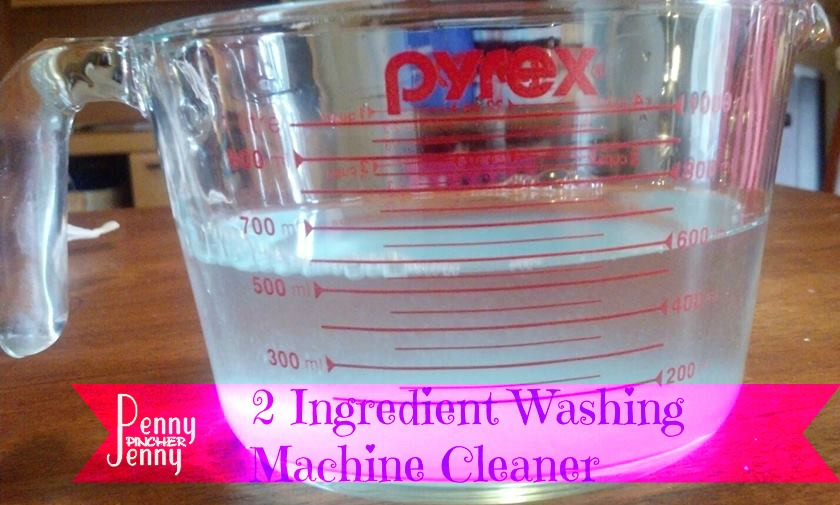 Washing Machine Cleaner Only Two Ingredients!