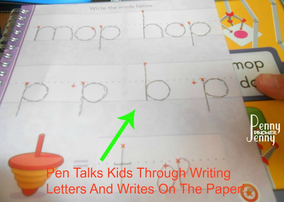 The Leapreader is the perfect way to help your kids to learn to read!! The kids will think they are having fun but they are really learning to read and write at the same time, a great new product from Leapfrog.