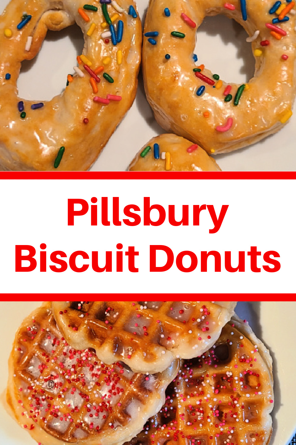 Making Pillsbury Biscuit Donuts are easy! They can be made on the stovetop, in the air fryer, or in a waffle maker with homemade icing too! These are easy to make plus they are a budget-friendly treat the kids can help to make as well.
