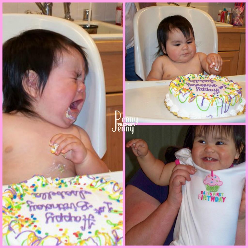 Bella's 1st Birthday Smash Cake