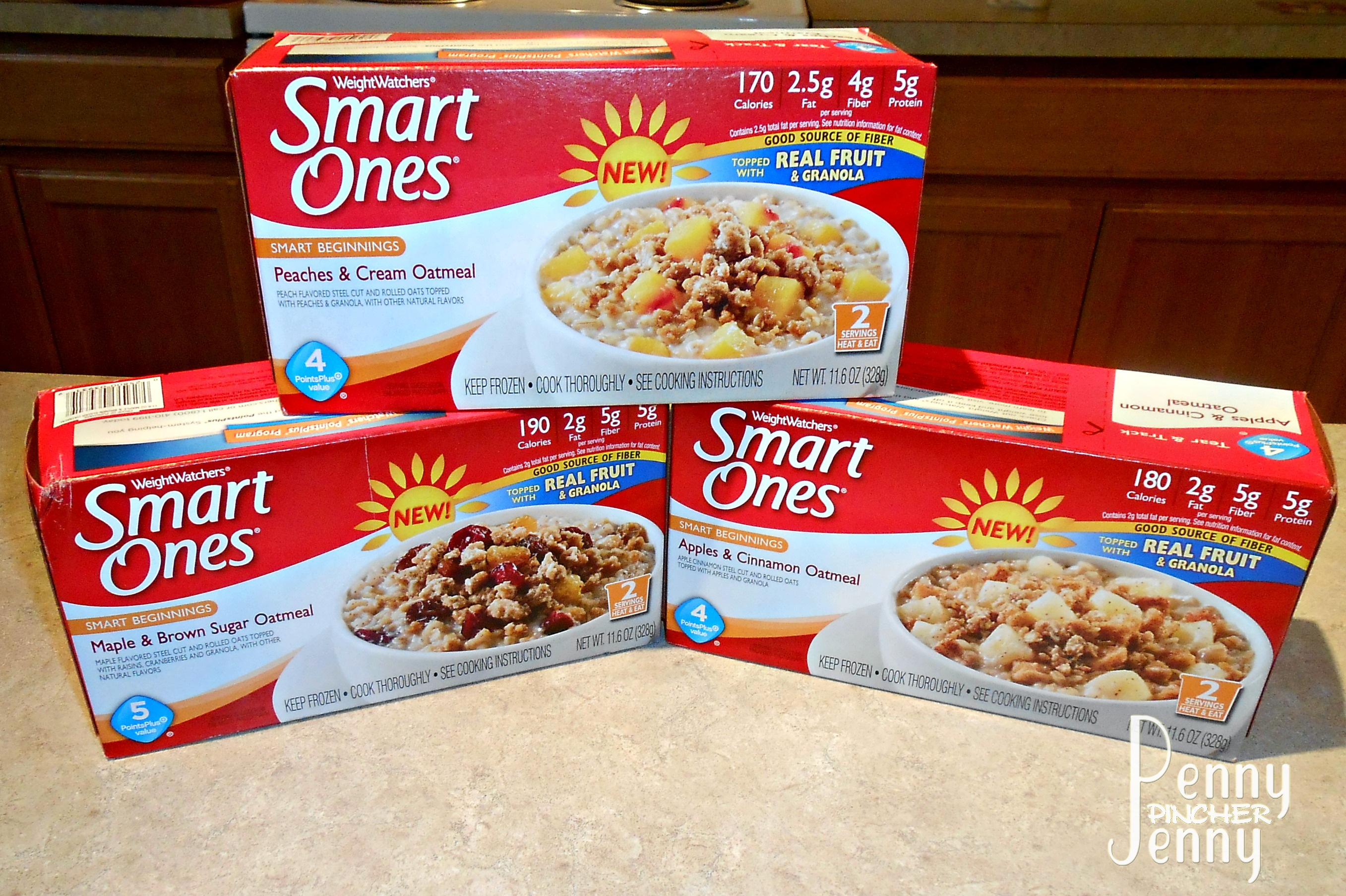 smart ones oatmeal review and giveaway penny pincher jenny. Black Bedroom Furniture Sets. Home Design Ideas