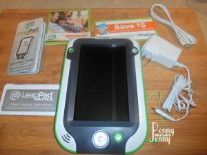 The Leapfrog Leappad Ultra is a new product from Leapfrog! The kids think they are playing video games but really they are playing learning games! Perfect way to improve reading, math, science, and more