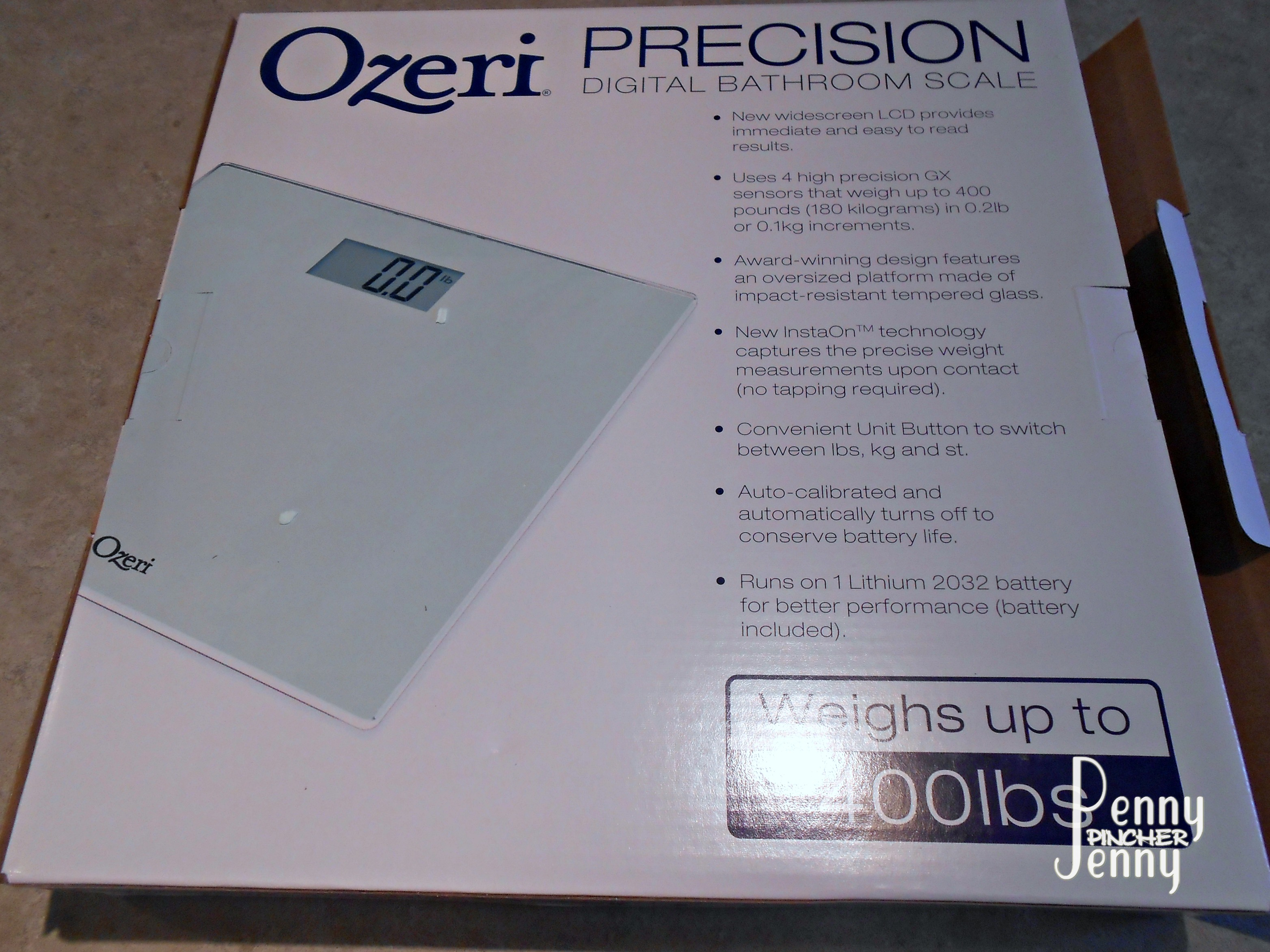 Calibrate digital bathroom scale - Ozeri Precision Digital Bath Scale