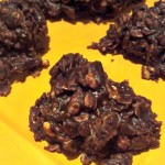 No Bakes Fudgey Peanut Butter Cocoa