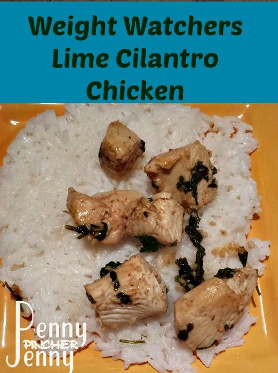 Weight Watchers Lime Cilantro Chicken