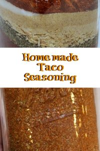 This Make Your Own Homemade Taco Seasoning recipe is a quick and easy way to save money on tacos!!! Plus it uses spices in your spice cabinet already!