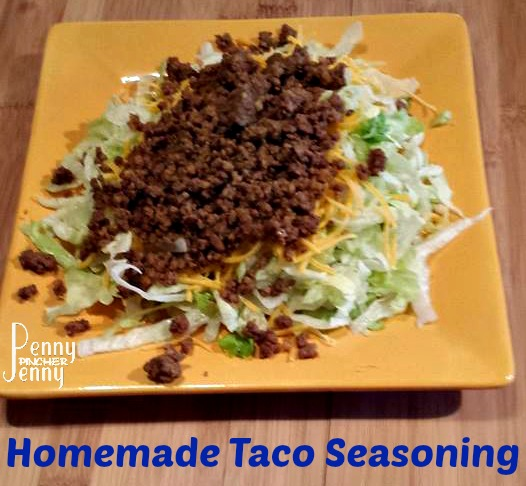 Make Your Own Homemade Taco Seasoning