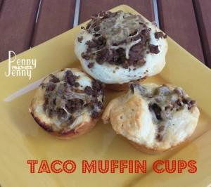 Taco Muffin Cups