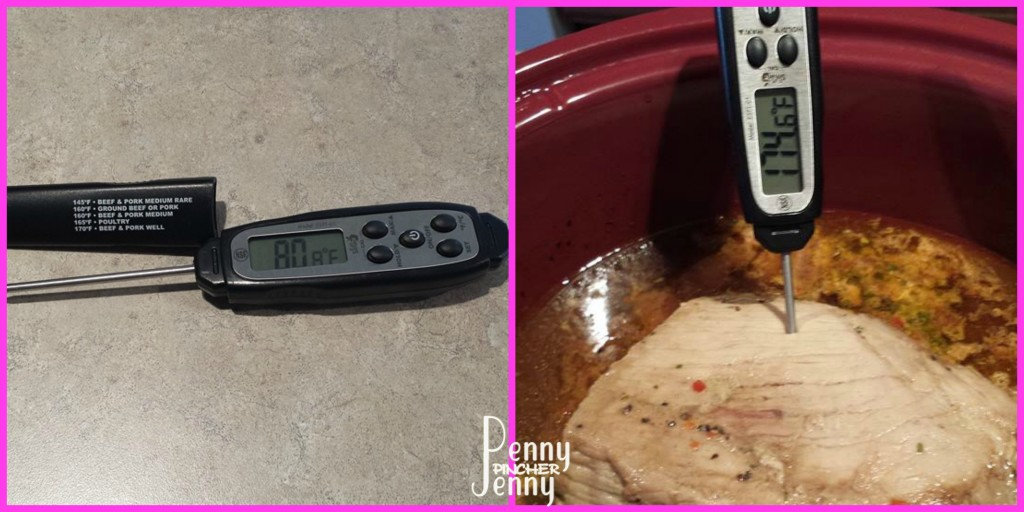 3 Packet Crock Pot RoastEatSmart Precision Food Thermometer Review easy to read