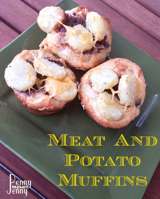 Meat and Potato Muffins