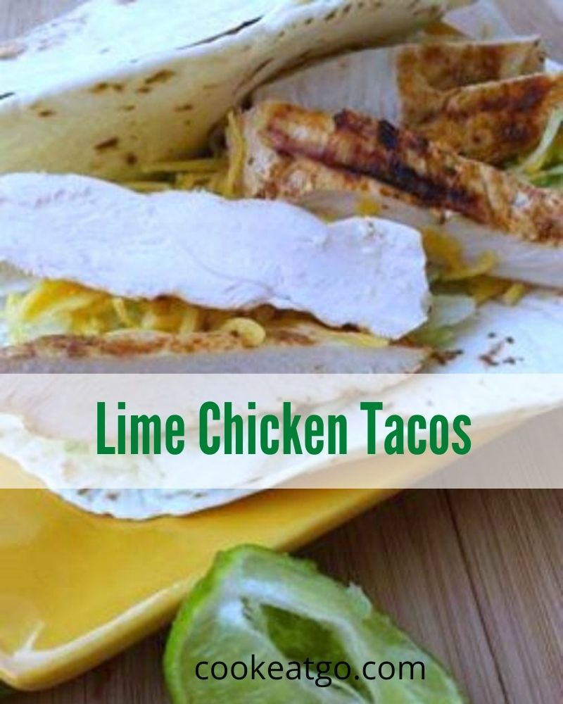 These lime chicken tacos recipe perfect quick lunch or easy dinner as well! 0 WW points on MY WW Blue and Purple Plan! With only three ingredients there is no prep time either!