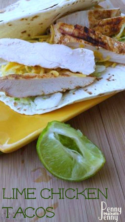 Be sure to try these lime chicken tacos recipe! Plus it is 0 WW smart points as well, perfect for a quick lunch or easy dinner as well.