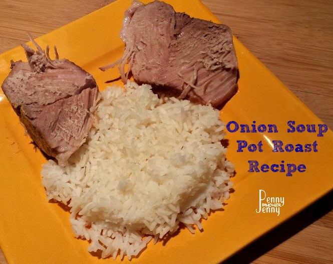 Onion Soup Pot Roast Recipe ~Only 2 Ingredients