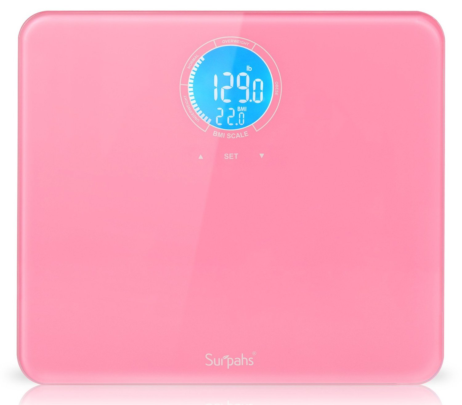 Surpahs Bathroom Scale With BMI Calculation Review