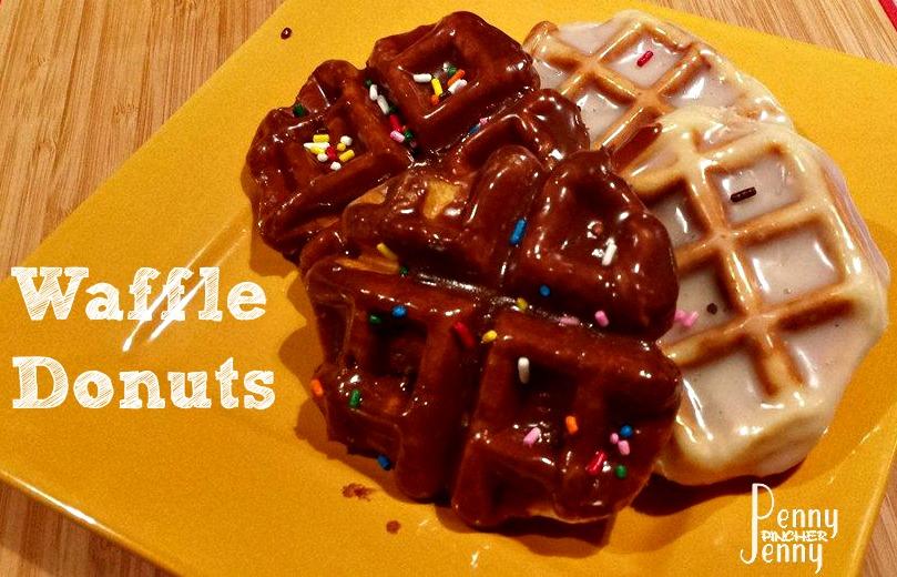 Waffle Donuts No Frying!