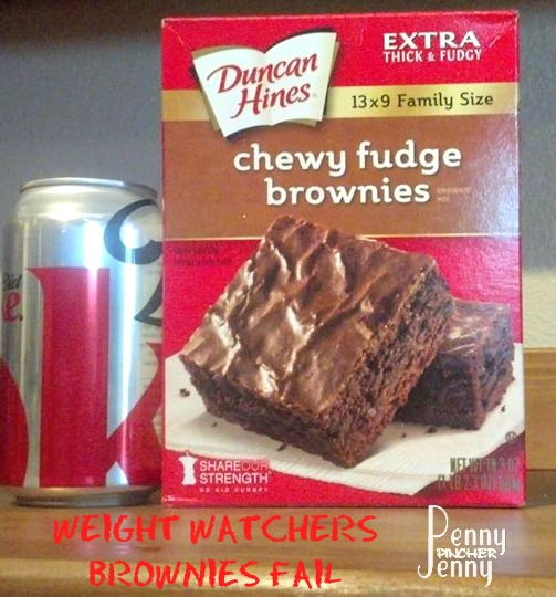 Weight Watchers Brownies Fail