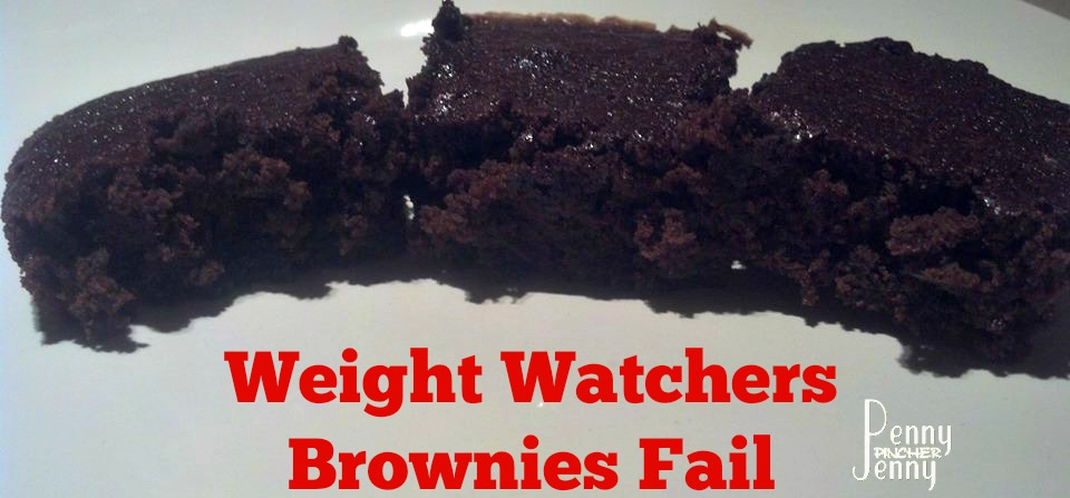 Weight Watchers Brownies Fail final picture