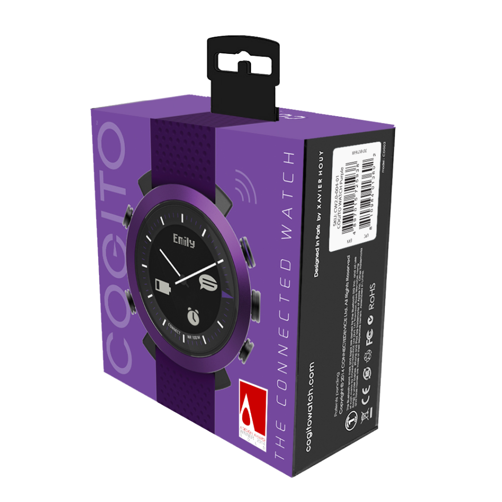 A Cogito Watch makes a great gift for someone you love or even a gift to your self!! This Cogito Watch is compatible with smartphones making it more useful than a standard wristwatch.