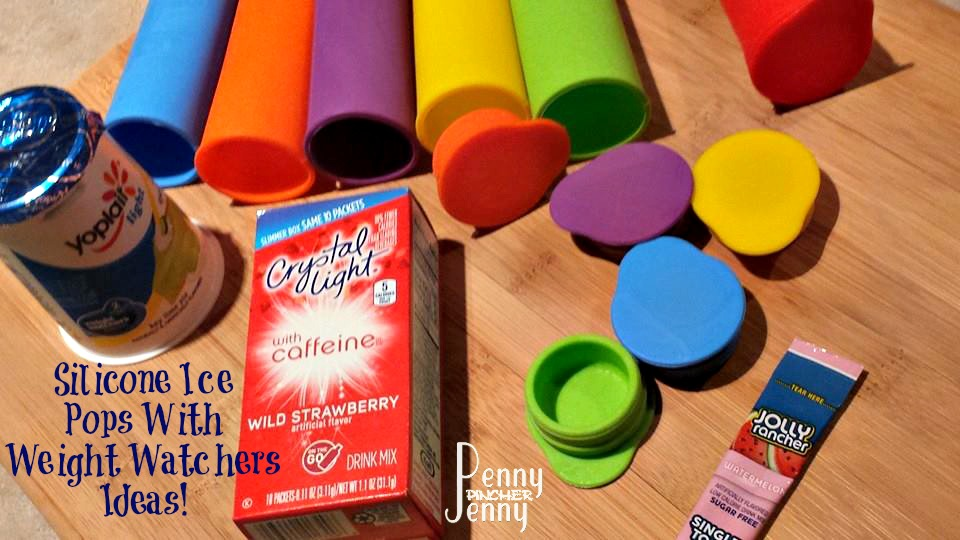 Silicone Ice Pops With Weight Watchers Ideas!
