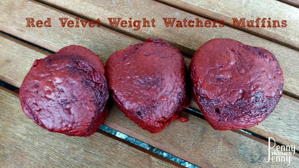 Red Velvet Weight Watchers Muffins