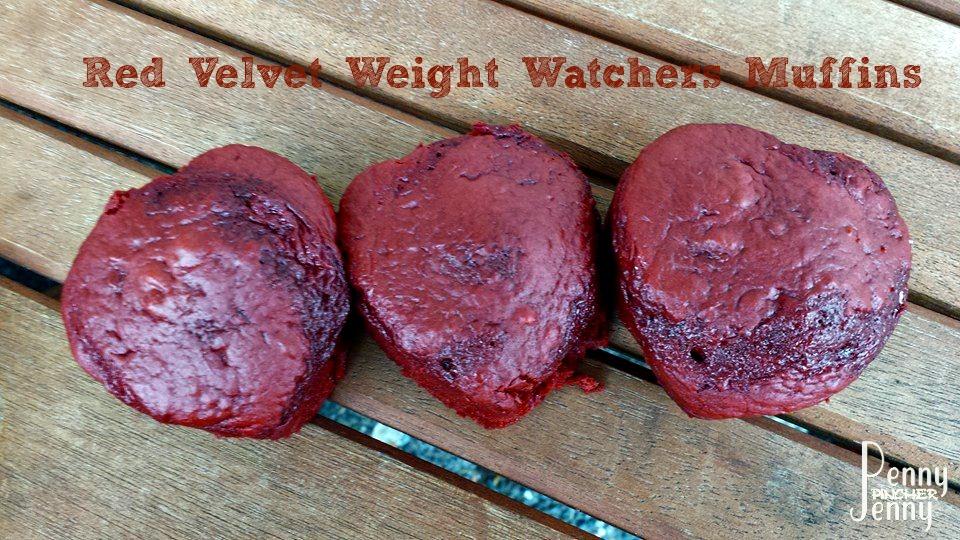 Red Velvet Weight Watchers Muffins