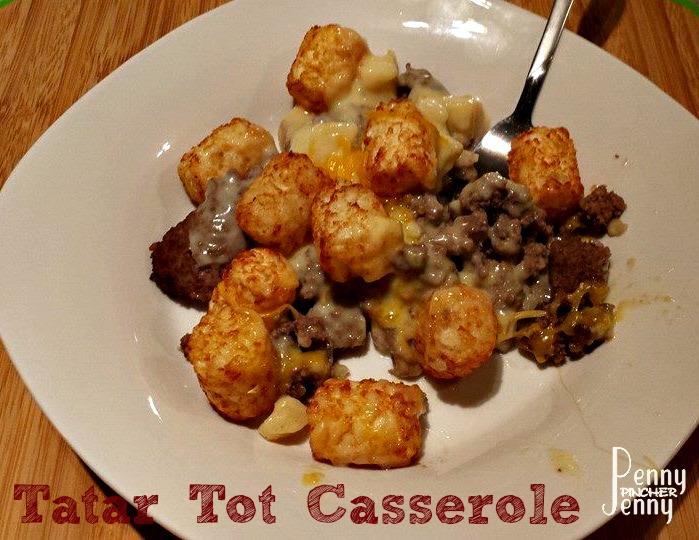 Tater Tot Casserole Recipe
