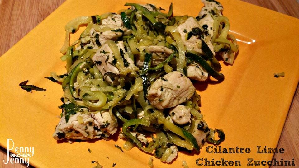 Cilantro Lime Chicken Zucchini Recipe