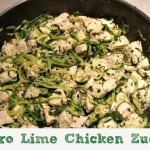 Cilantro Lime Chicken Zucchini Recipe
