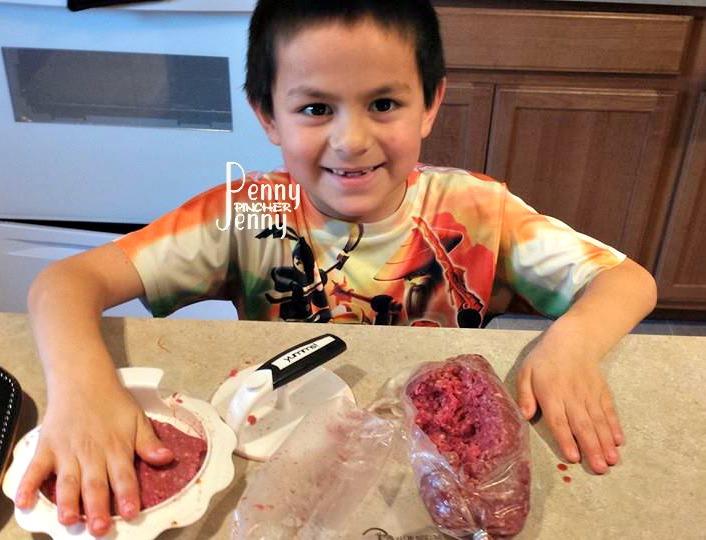 Michael Stuffing Yumm Burger Press