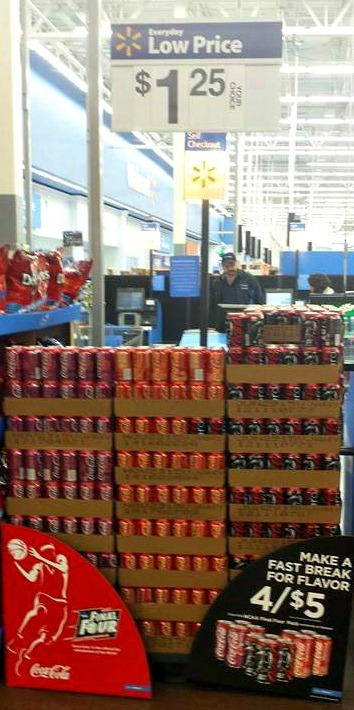 Coca Cola 4 Pack at Walmart