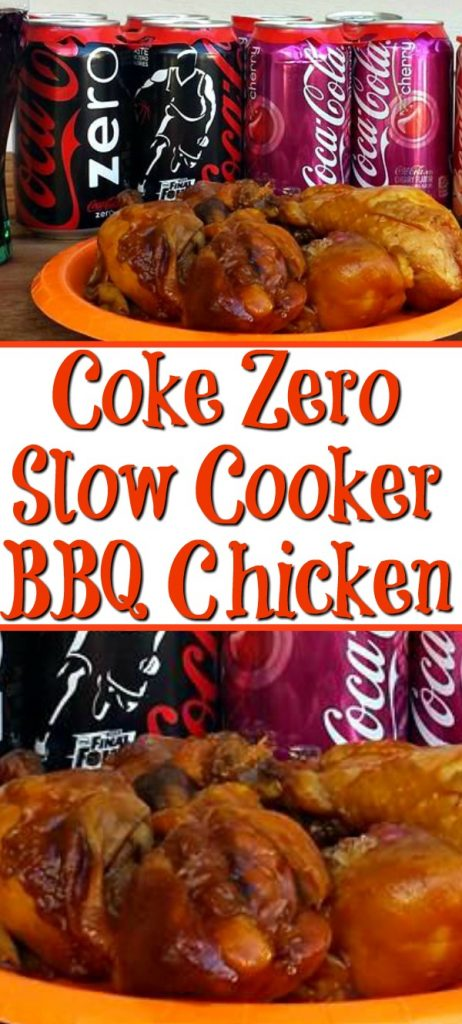 Looking for the perfect slow cooker bbq chicken recipe?? My son Michael created these amazing juicy chicken with is a secret ingredient to add to bbq chicken.