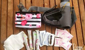 DIY Running Essential Pack With Playtex® Sport®!!