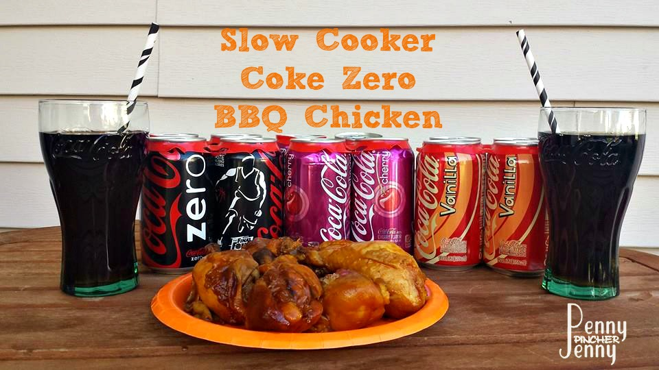 Slow Cooker BBQ Chicken With Coke Zero