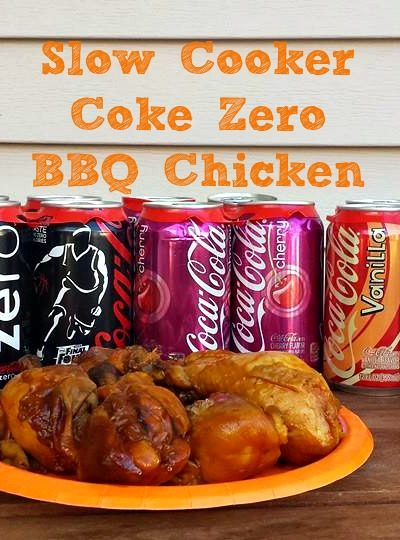 Slow Cooker BBQ Chicken Coke Zero