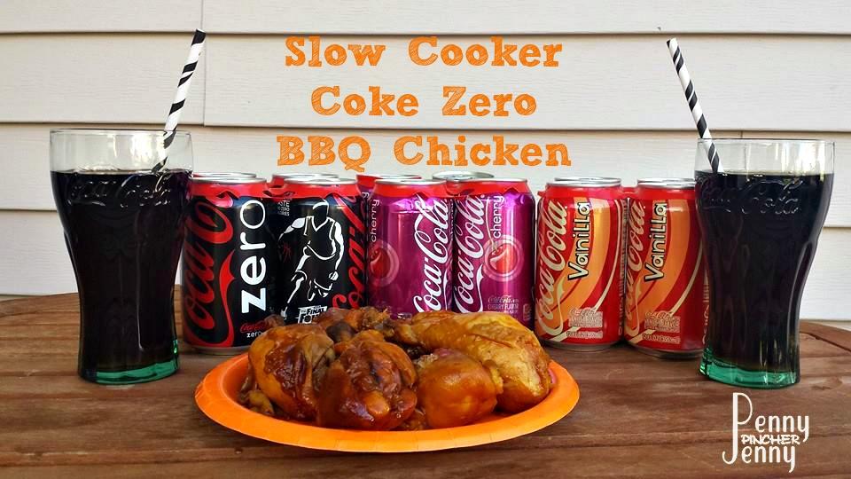 coke zero slow cooker bbq chicken penny pincher jenny. Black Bedroom Furniture Sets. Home Design Ideas